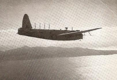A Wellington bomber