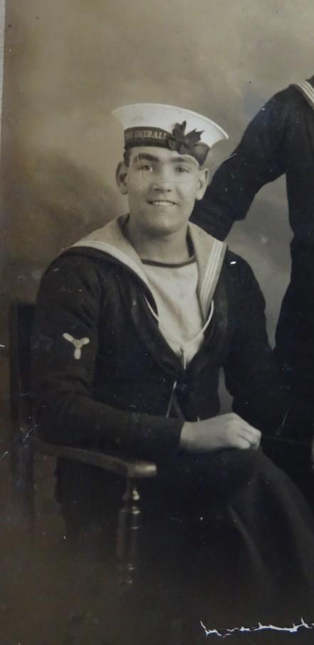 Stoker John Crennell who left Neptune in August 1941 5 months before she sank.