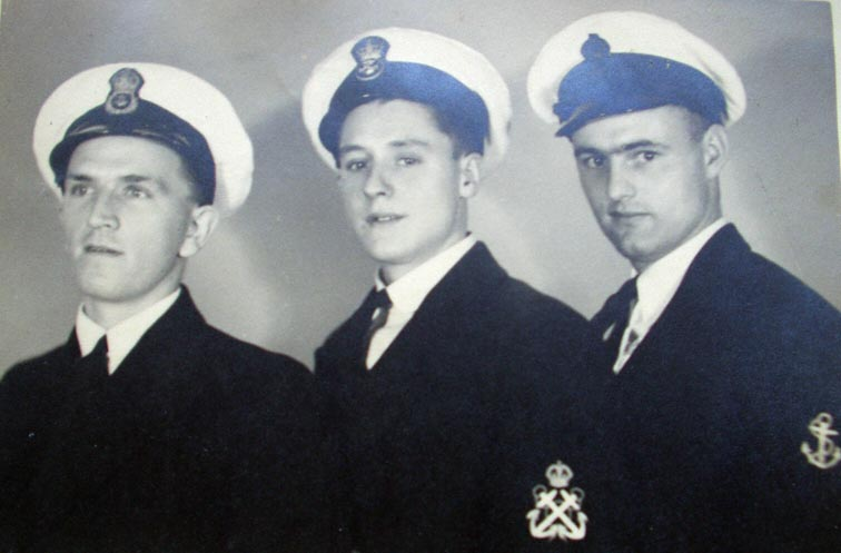 ERA3 Cyril Martin (left)       ERA4 William Wright (centre)       ERA5 Roach (right)\nNote: Martin and Wright were casualties. Roach survived